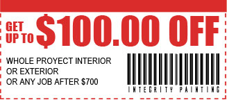 $100 off whole project interior